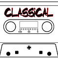 Classical Music Tape Cassette by Bigalbaloo Stock