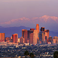 Classical View Of Los Angeles Downtown by Chon Kit Leong