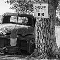 Classsic Truck On Route 66 by John McGraw