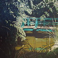 Claude Monet Bridge 2 by Sharon  De Vore