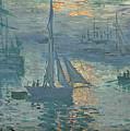 Claude Monet Sunrise by Bishopston Fine Art