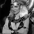 Claudette Colbert In Cleopatra 1934 by Mountain Dreams
