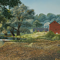 Claverack Creek by Kenneth Young