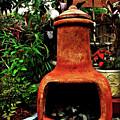 Clay Furnace by Joan  Minchak