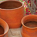 Clay Pots by Robert Hamm