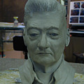 Clay Sculpture Of Gerald Simpson by Terri  Meyer