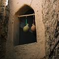 Clay Water Bottles In Oman by Gosta Eger