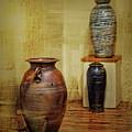 Clay - Wood by Nikolyn McDonald