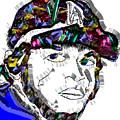Clayton Kershaw La Dodger by Dalon Ryan