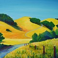 Clear Fall Day At Briones by Stephanie  Maclean