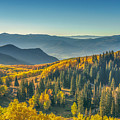 Clear Sky Autumn Morning In Utah by James Udall