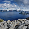 Clearing Storm At Crater Lake by Greg Nyquist