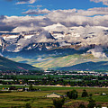 Clearing Storm Over Mount Timpanogos by TL Mair