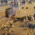 Clearing The Road- Kandahar Province Afghanistan by Josh Bernstein