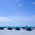 Clearwater Beach Florida Shelters by JG Thompson