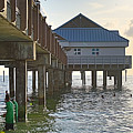 Clearwater Beach Pier by J Darrell Hutto