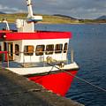 Cleggan Pier, Connemara County Galway by Deborah Squires