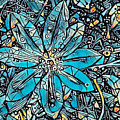 Clematis In Blue Fantasia by Jack Torcello
