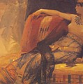 Cleopatra Preparatory Study For Cleopatra Testing Poisons On The Condemned Prisoners by Cabanel Alexandre
