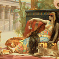 Cleopatra Testing Poisons On Those Condemned To Death by Alexandre Cabanel