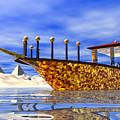 Cleopatra's Barge by Nicholas Burningham