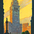 Cleveland - Vintage Travel by Georgia Fowler