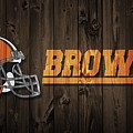 Cleveland Browns Barn Door by Dan Sproul