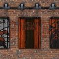 Cleveland Browns Brick Wall by Joe Hamilton