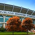 Cleveland Browns Stadium by Kenneth Krolikowski