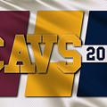 Cleveland Cavaliers Flag by Joe Hamilton