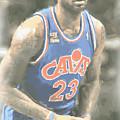 Cleveland Cavaliers Lebron James 1 by Joe Hamilton