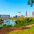 Cleveland Cityscape by Kenneth Sponsler
