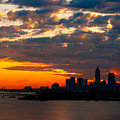 Cleveland Dawn by Kenneth Sponsler