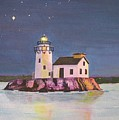 Cleveland Harbor West Pierhead Lighthouse by CB Woodling