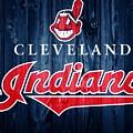 Cleveland Indians Barn Door by Dan Sproul