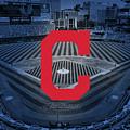 Cleveland Indians Baseball by Nicholas Legault