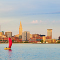 Cleveland On The Lake by Kenneth Sponsler