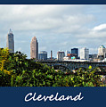 Cleveland Poster by Joan  Minchak
