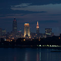 Cleveland Reflections by Stewart Helberg