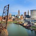 Cleveland Skyline #2 by Bill Berris