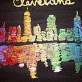 Cleveland Skyline by Deborah Evers