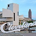 Cleveland Updated View by Frozen in Time Fine Art Photography