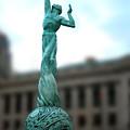 Cleveland War Memorial Fountain by Terri Harper