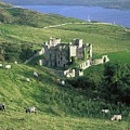 Clifden Castle, Co Galway, Ireland 19th by The Irish Image Collection