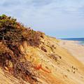 Cliff At Marconi Beach by Steven Scanlon