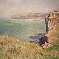 Cliff At Varengeville by Claude Monet