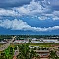 Cliff Avenue Storm Clouds by M Dale