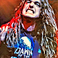 Cliff Burton Portrait by Scott Wallace Digital Designs