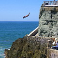 Cliff Divers by Christie Starr Featherstone