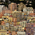 Cliff Dwellers Of Monte Carlo by Richard Ortolano
